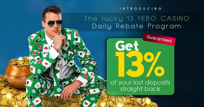 Lucky 13 Rebate Program