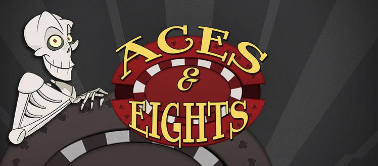 Aces and Eights video poker screenshot