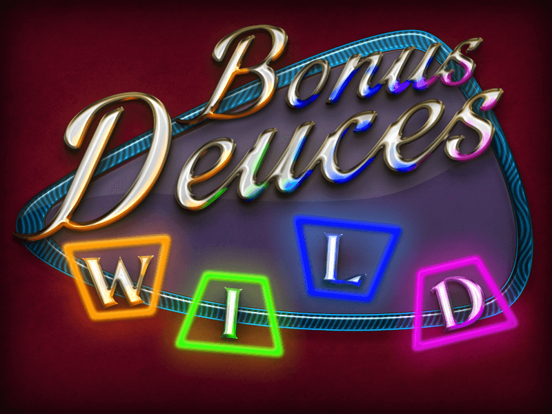 Bonus Deuces Wild Video Poker Screenshot
