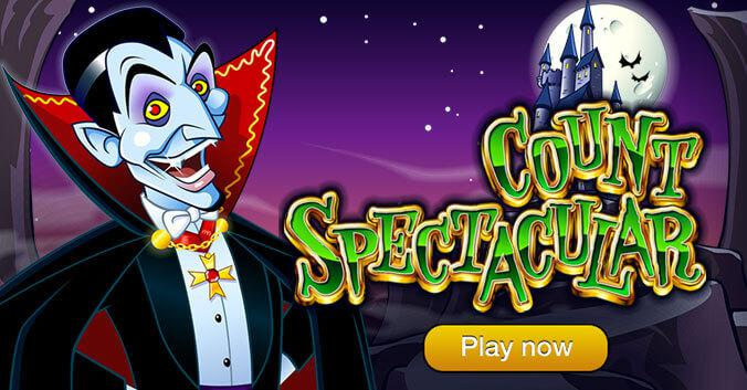 Count Spectacular Slot Game - Play Now