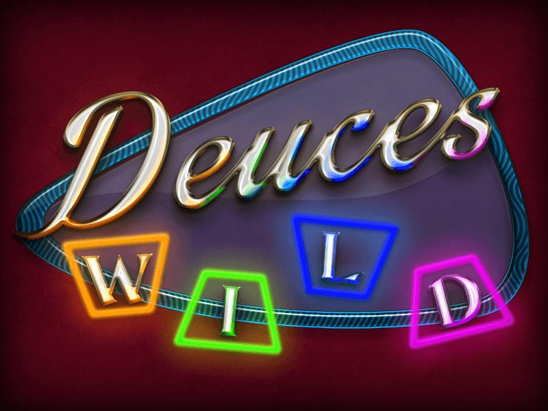 Deuces Wild Video Poker Screenshot