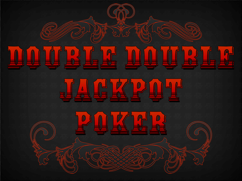 Double Double Jackpot Poker Screenshot