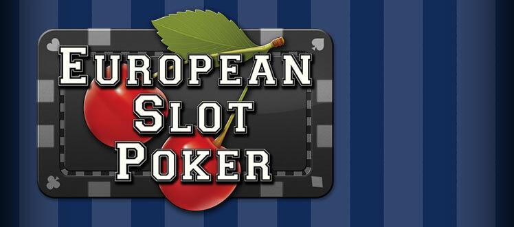 Euro Slot Poker Screenshot