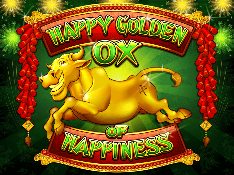Happy Golden Ox of Happiness slot review - Play Now
