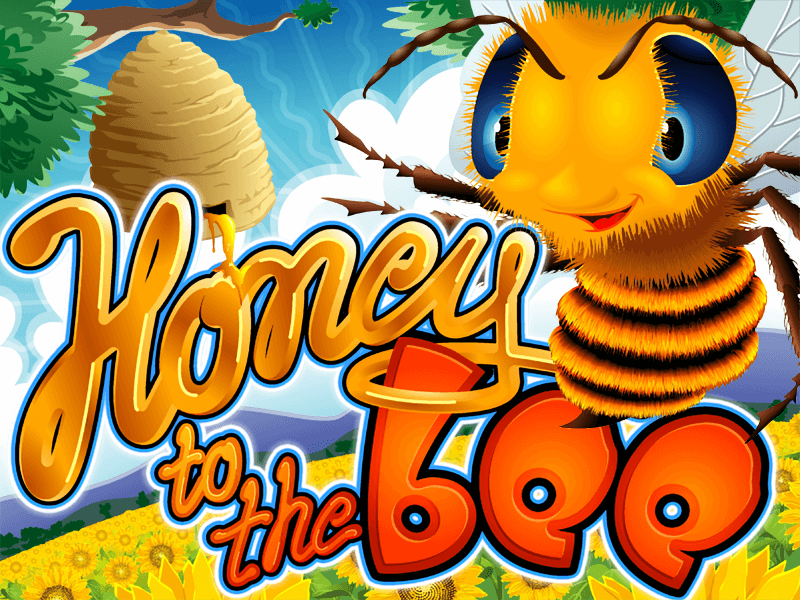 Honey To The Bee slot review image and logo