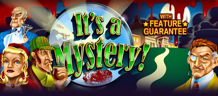 It's A Mystery slot review image and logo