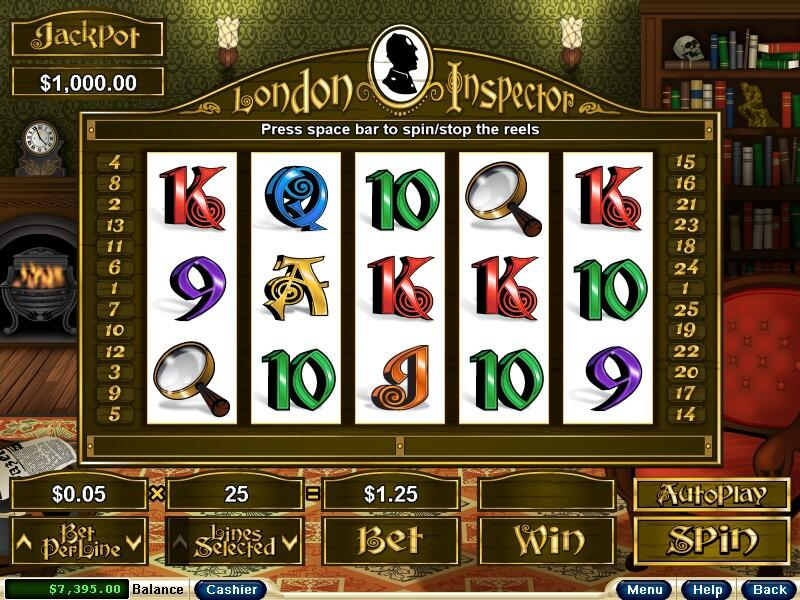 London Inspector slot review image and logo