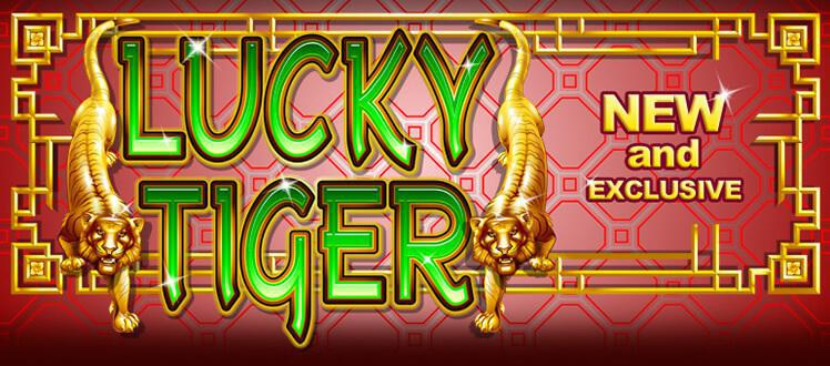 Lucky Tiger slot review image and logo