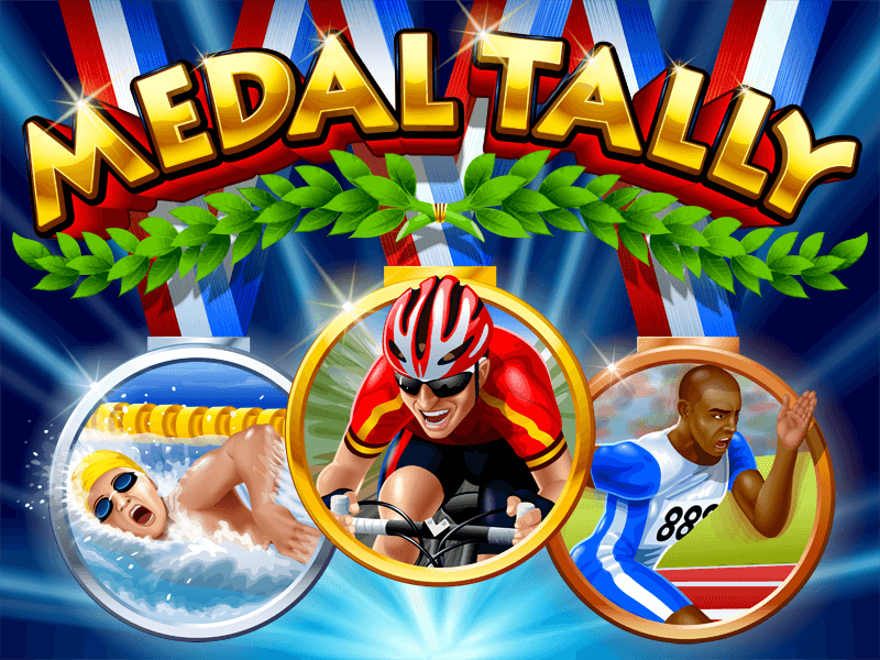 Medal Tally slot review image and logo
