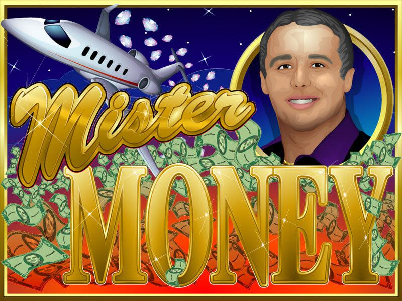 Mister Money slot review image and logo