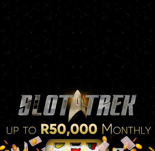 SLOT TREK , R50,000 in prizes