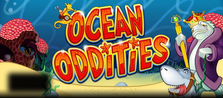 Ocean Oddities slot review image and logo