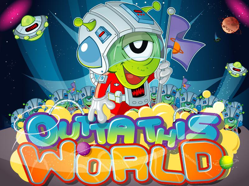 Outta This World slot review image and logo