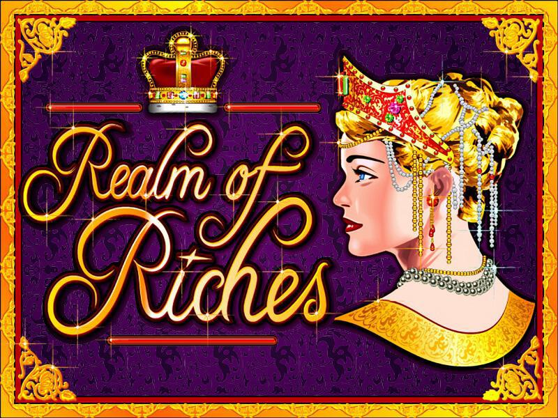 Realm Of Riches slot review image and logo