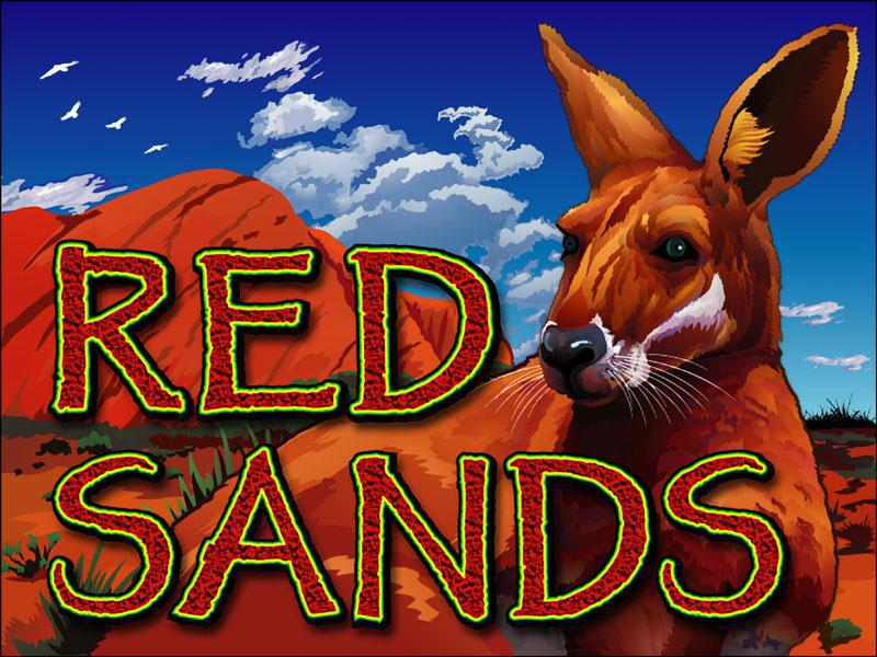 Red Sands slot review image and logo