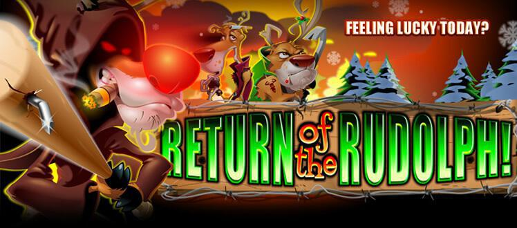 Return Of Rudolph slot review image and logo