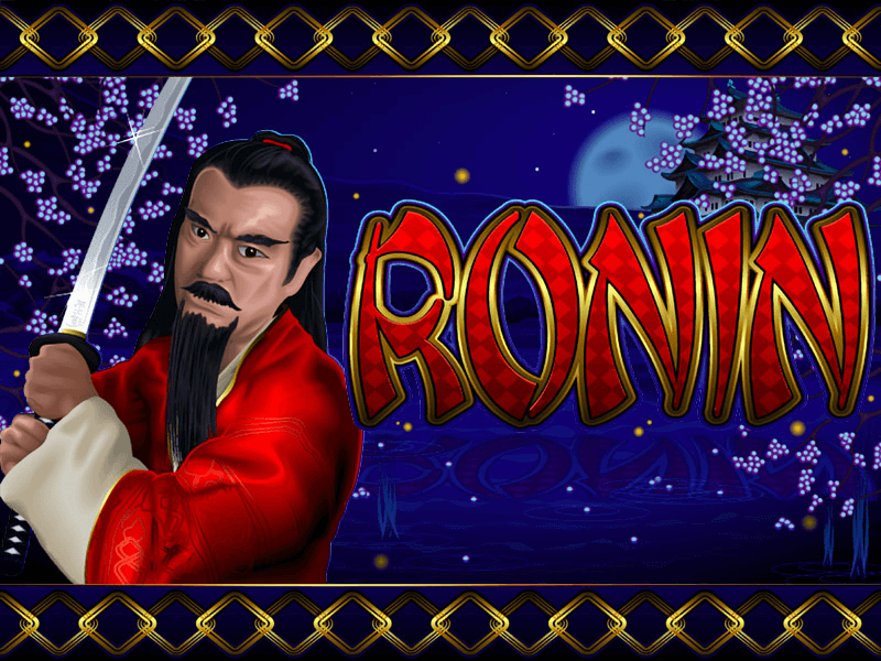 Ronin slot review image and logo
