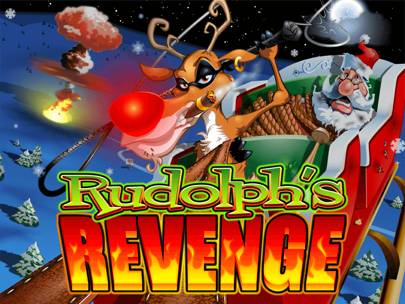 Rudolphs Revenge slot review image and logo