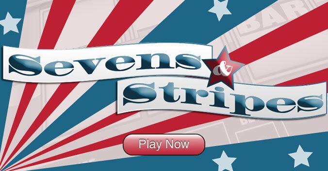 Sevens & Stripes slot review image and logo