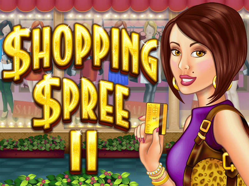 Shopping Spree II slot review image and logo