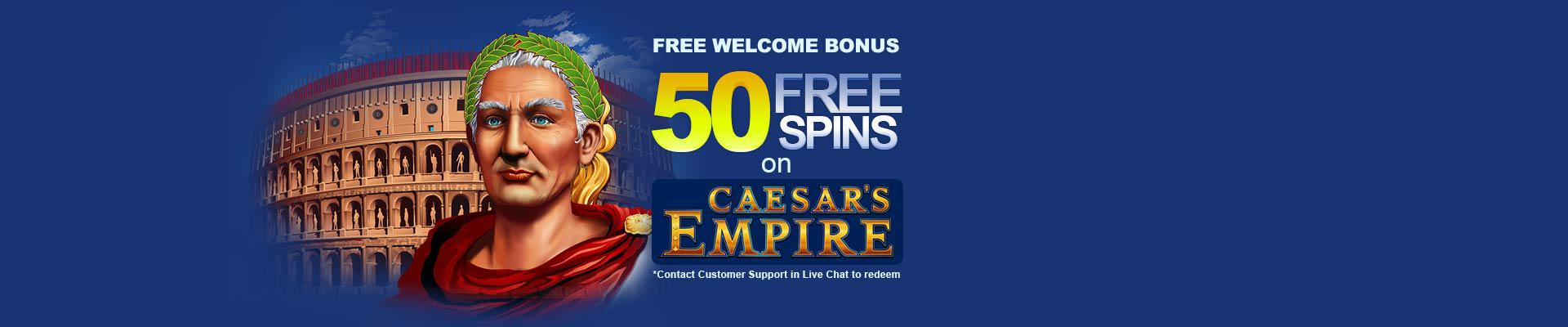 Claim your 50 free spins and R12,000 free welocme bonus