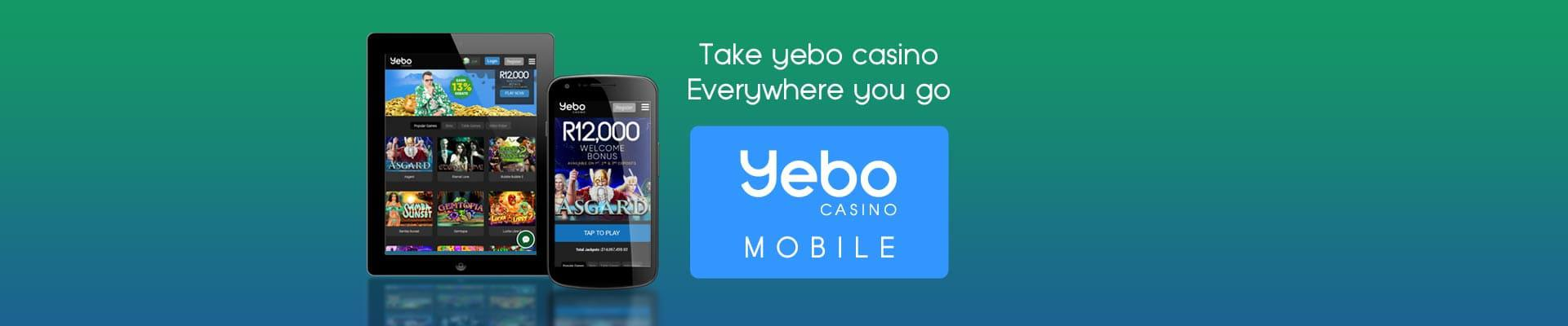 Yebo Casino - legal and licensed online casino