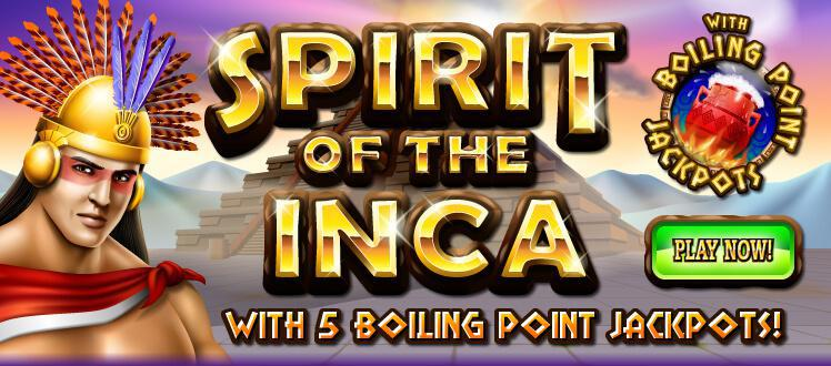 Spirit Of Inca slot review image and logo