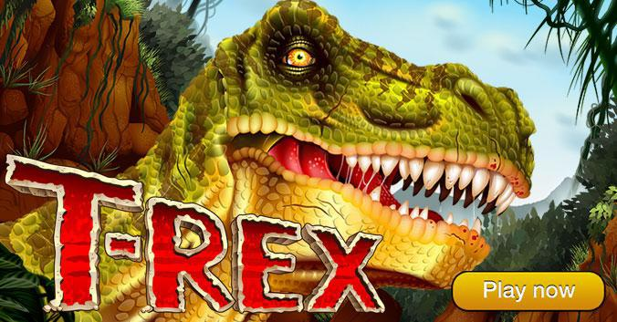 Play Now - T-Rex Slot game