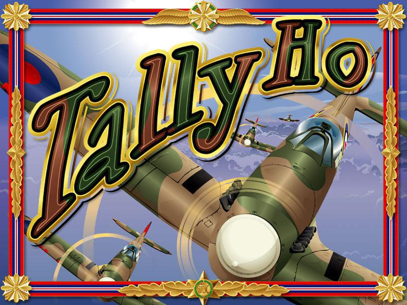 Tally Ho slot review image and logo