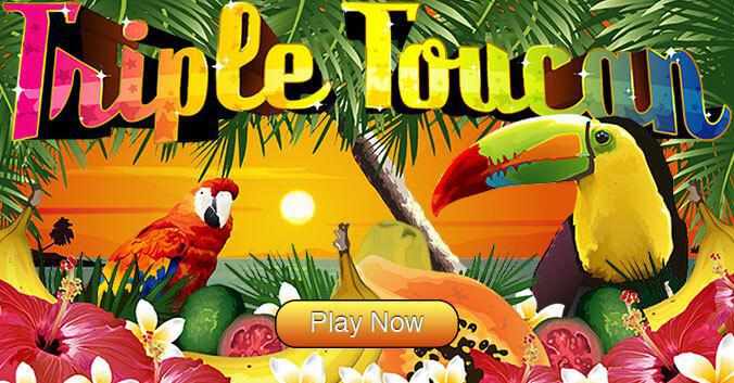 Triple Toucan slot image and logo
