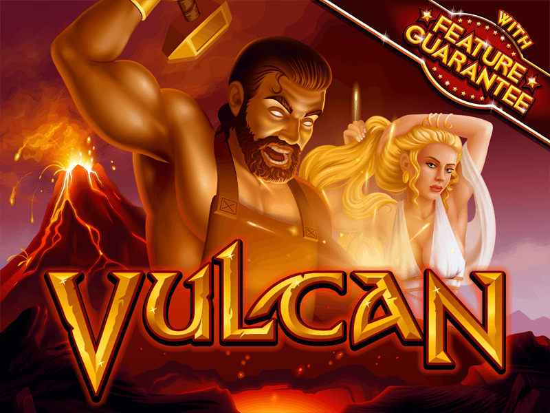 Vulcan slot review image and logo