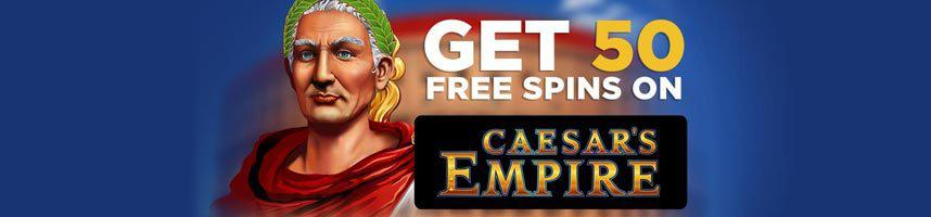 50 Free Spins Bonus to play