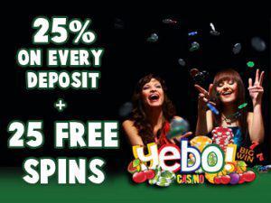 Saturday Braai Promo - 25% = 25 Free spins on every deposit