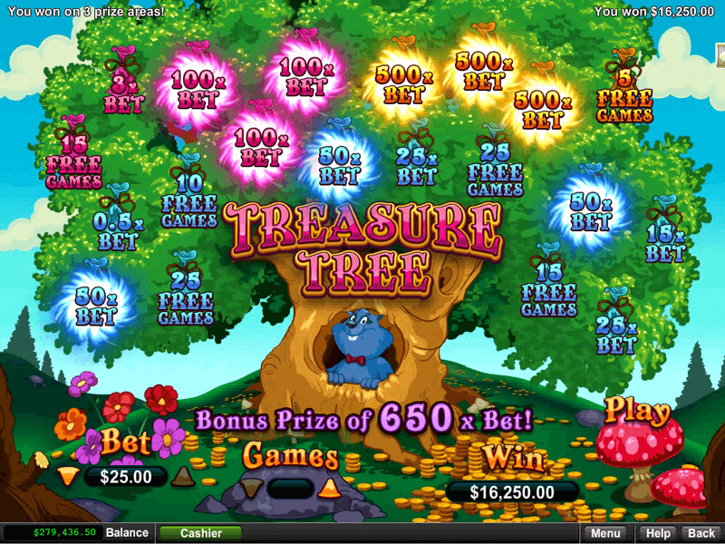 Treasure Tree Slot Screenshot