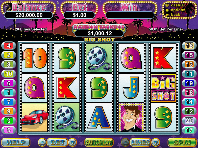 BigShot Slot Screenshot