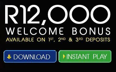 R12,000 welsome bonus at Yebo Casino