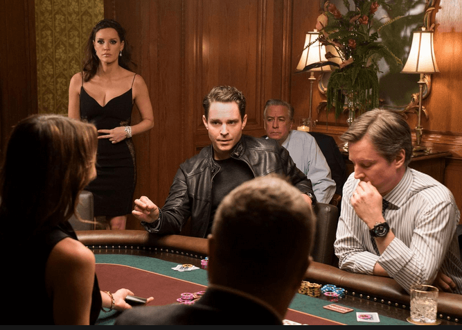 screen shot of the movie Molly's Game