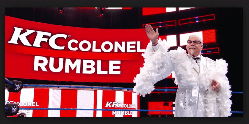 ric flair KFC's Colonel Rumble
