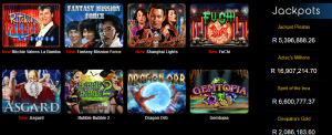 Progressive jackpot games and regular jackpot slots