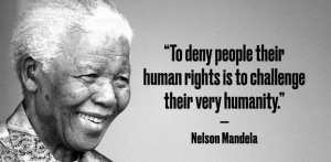 mandela human rights quote