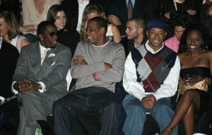 russel simmons, p diddy, jayz