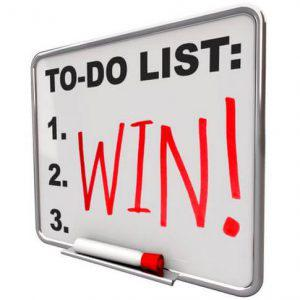 to do list,win