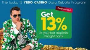 Bonuses at Yebo Casino