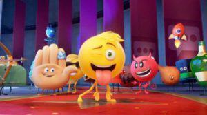 scene from emoji movie