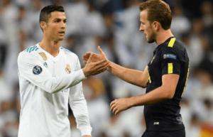 Ronaldo and Harry Kane