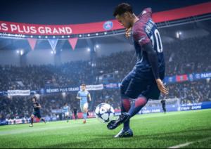 Neymar in Ball control feautre