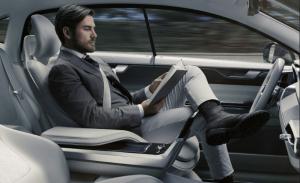 a self driving driving car