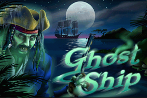 Screen shot of the cover for Ghosts ship a halloween themed slot