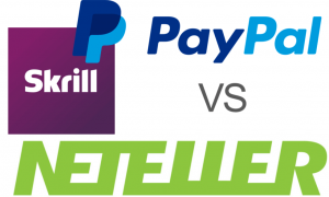 picture with reliable payment methods  neteller, skrill and paypal