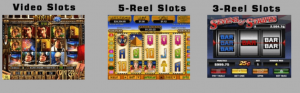 picture with types of online slot